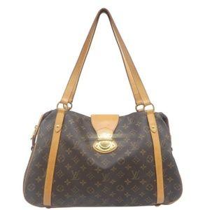💯Auth Louis Vuitton Stresa GM Shoulder Bag